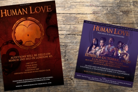 Outils promo pour HUMAN LOVE