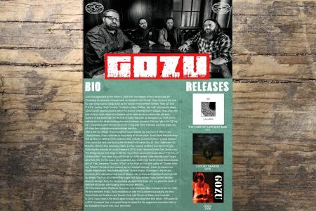 Pressbook pour GOZU