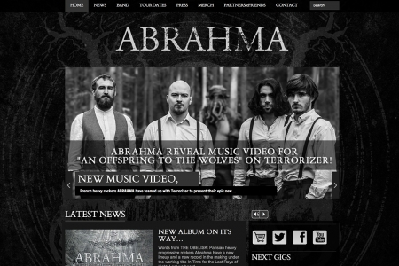 Site Internet ABRAHMA