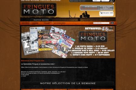 Site Internet FRINGUES MOTO
