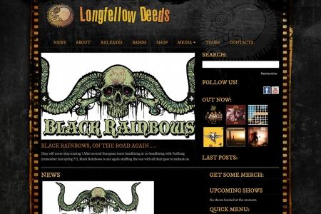 Site Internet LONGFELLOW RECORDS