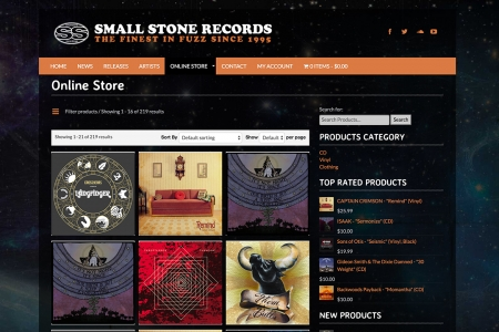Site Marchand SMALLSTONE RECORDS #2