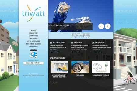 Site Internet TRIWATT