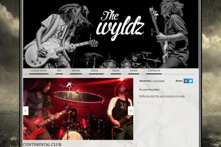 Site Internet THE WYLDZ